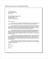 cover letter for administrative position lukex co