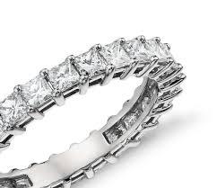 white eternity rings images 2 ct tw princess cut cubic zirconia eternity ring in 14k white jpg