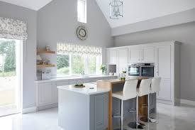 grey white kitchen classic style inframe painted white and grey kitchen tipperary