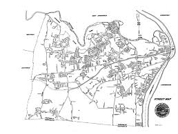 Massachusetts Town Map by Community Agawam Ma