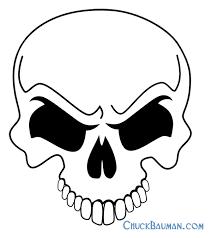 7 best images of free printable skull stencils airbrush skull
