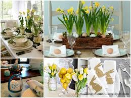 Easter Table Setting Decorating Easter Table Settings Walking On Sunshine