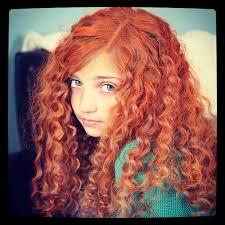 Disney Princess Hairstyles Get Merida U0027s Fiery And Curly Red Hair Disney Princess Hairstyles