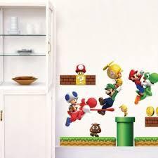Super Mario Bedroom Decor Mario Wall Decals Archives American Wall Decals