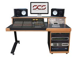 Recording Studio Workstation Desk by Ssl Studio Desks
