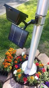 solar led flagpole light amazon com valley forge flag csfpl 8 commercial led solar flagpole