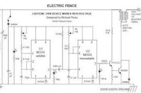 electric fence energizer circuit diagram wiring diagram
