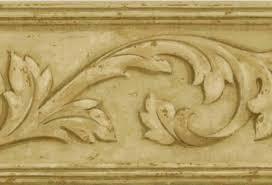 878395 architectural leaf wallpaper border vc052114b u003cbr u003e clearance