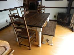 cuisine en pin table de cuisine bois great beautiful table cuisine bois table de