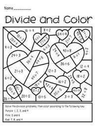 printable valentine u0027s day multiplication and fractions worksheets