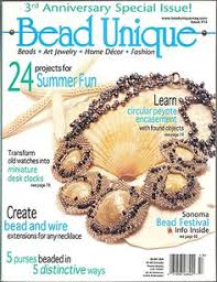 quick easy beadwork magazine projects for shaped beads