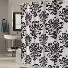 Fleur De Lis Curtains Ez On Fleur De Lis Fabric Shower Curtain Liner With Built In