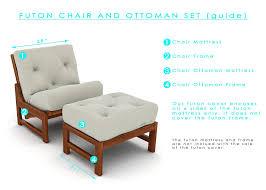 amazon com fynn full size futon cover 54 inch x 75 inch