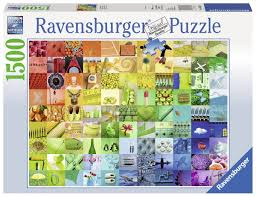 puzzle 99 beautiful colors ravensburger 16322 1500 pieces jigsaw