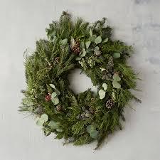 wreath fresh christmas holiday wreaths terrain