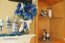 blue white u0026 sliver christmas home life with mrs b