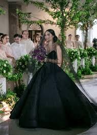 black wedding dresses these photos will make you rethink an all black wedding