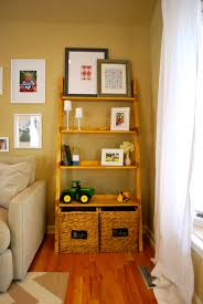 Leaning Bookshelf Woodworking Plans by Furniture Ladder Bookshelf Decorating Ideas For Your Home Ideas