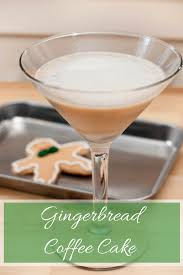 holiday cocktails png gingerbread coffee cake cocktail a year of cocktails