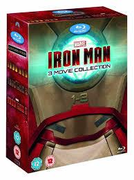iron man 3 movie collection blu ray disc 2013 3 disc set ebay