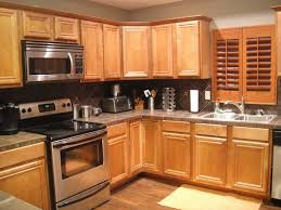 best appliance color with honey oak cabinets kitchen kitchen color ideas with oak cabinets and black