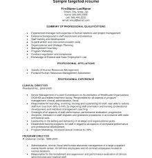 targeted resume template targeted resume template tongue and quill