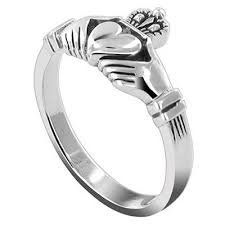 claddagh ring 925 sterling silver claddagh ring unisex oceans away