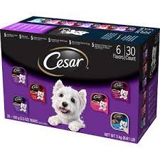 cesar cuisine cesar canine cuisine food variety pack 3 5 oz 30 ct