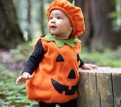Halloween Costume Pumpkin Baby Pumpkin Costume Pottery Barn Kids