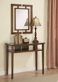appealing mirror and console table sets 47 in extending console