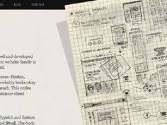 30 great examples of web design sketches sketches website and