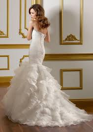 robe sirene mariage robe de mariée sirène plis organza look11522 219 00 look mariage