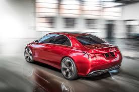 gmc sedan concept mercedes benz concept a sedan previews next gen compact four door