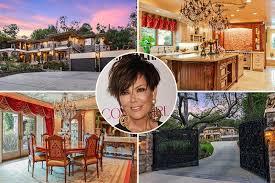 Kris Jenner Backyard Kris Jenner U0027s Keeping Up With The Kardashians Home Goes On Sale