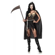 Halloween Reaper Costume Leg Avenue Women U0027s 3 Piece Death Dealer Grim Reaper Costume Black