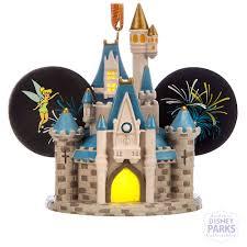 disney parks cinderella castle light up ear hat ornament walt