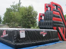 Backyard Bounce Free Fall Dbl Stunt Jump Backyard Bounce