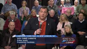 Chris Christie Resume Chris Christie Town Hall Meeting New London New Hampshire Dec 21 2015