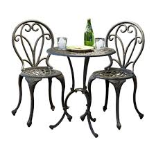 Patio Furniture Lowes Canada - best selling home decor 232239 thomas cast aluminum 3 piece bistro