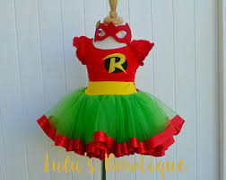 Halloween Robin Costume Robin Costume Etsy