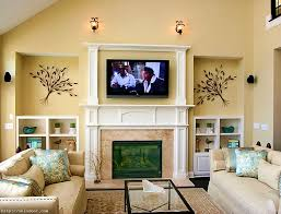 apartments wonderful living room ideas units tv wall over