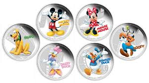 mickey u0026 friends silver coins embrace classic disney characters