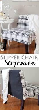 slipper chair slipcover slipper chair slipcovers remodelando la casa