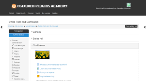 100 moodle course template configuration users and courses