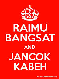 Keep Calm Meme Template - raimu bangsat and jancok kabeh keep calm and posters generator
