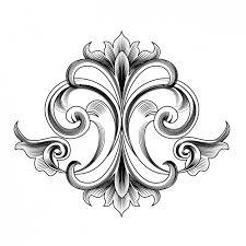 decorative ornament design vector free