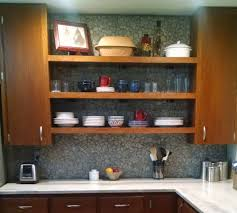 Kitchen Backsplash Stone Stone Kitchen Backsplash Scrubbing Our Panels With A Brush Can