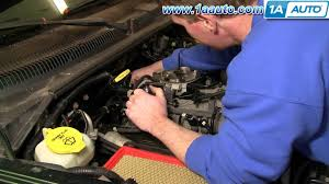 how to install replace distributor cap rotor dodge dakota durango