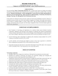 example resume for retail resume tips for retail and restaurant associate hospitality resume accomplishment examples cio resumes examples cio sample sales profile resume sle business development executive