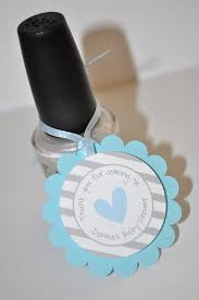 Blue Favors by 12 Boys Baby Shower Favor Tags Blue And Gray Thank You Tags